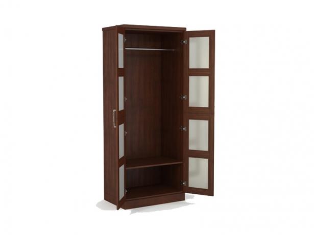 Шкаф распашной 2-х створчатый Парма орех