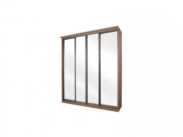 Купить шкаф-купе Элит 4-х дверный зеркальный